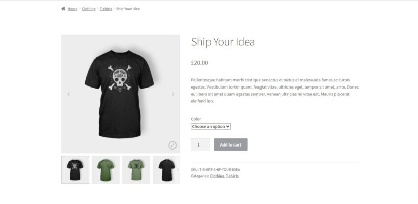 product gallery slider woocommerce