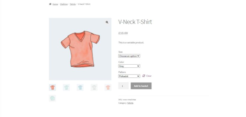 WooCommerce product gallery