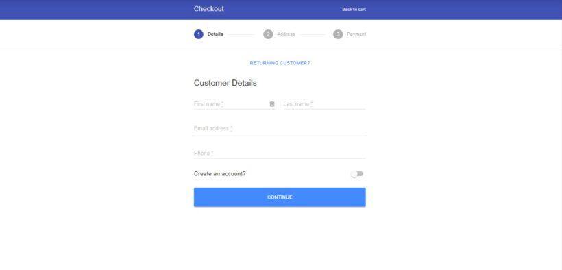 WooCommerce multistep checkout
