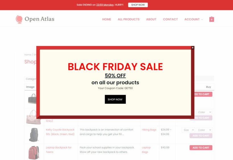 WooCommerce Black Friday Sale Advice