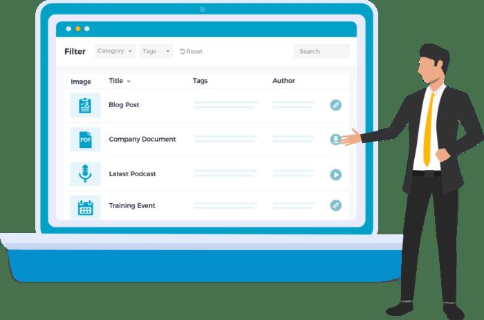 Dynamic WordPress table plugin Posts Table Pro