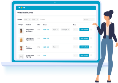 WooCommerce Wholesale Pro plugin by Barn2