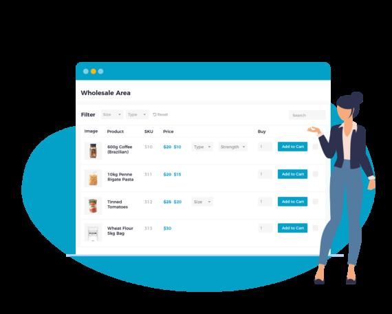 WooCommerce Wholesale Pro plugin