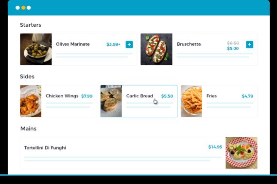 WooCommerce Restaurant Ordering plugin - Design your menu