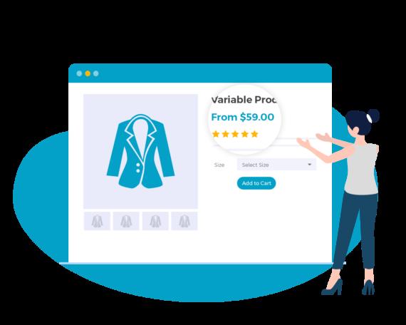 WooCommerce Variation Prices - main image